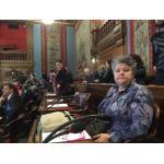 Pilar Vera en el Ayuntamiento de París